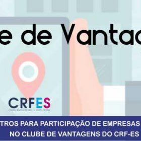 Banner CLUBE DE VANTAGENS CRFES